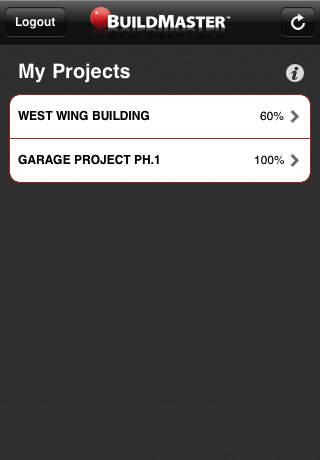 BuildMaster: Project iPhone Screenshot 1