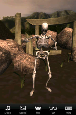 Skeleton Dance 3D