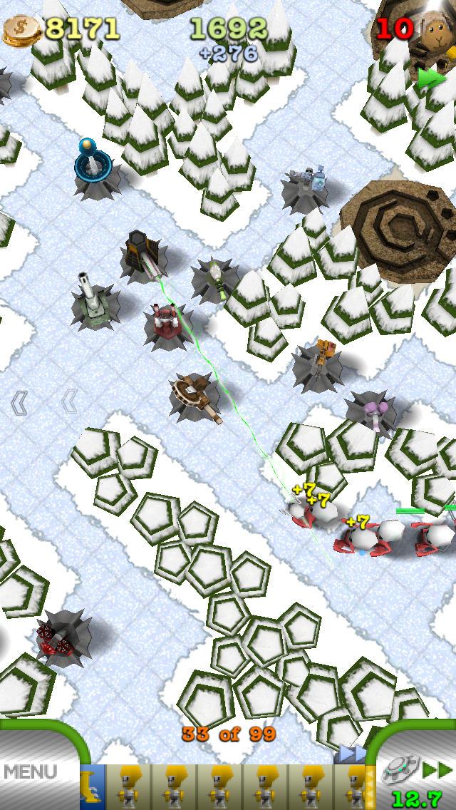 TowerMadness Zero screenshot