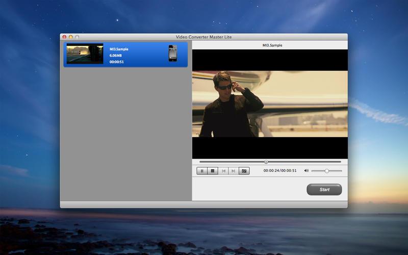 Video Converter Master Lite Screenshot