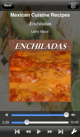Mexican Cuisine Recipes - AudioEbook