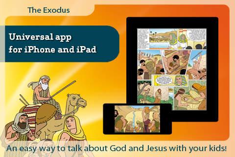 Bible comic book - The Exodus