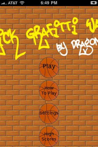 Basketball Insanity Lite iPhone Screenshot 1
