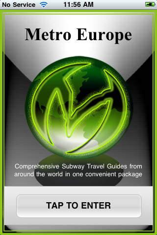 iSubway Europe iPhone Screenshot 1
