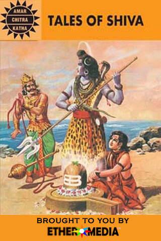 Tales of Shiva The God of Destruction - Amar Chitra Katha Comics