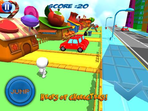天天跑酷之甜甜圈快跑 豪华版 玩遊戲App免費 玩APPs