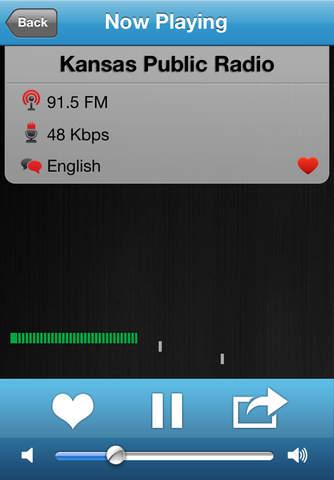 Kansas Radio Player + Alarm Clock