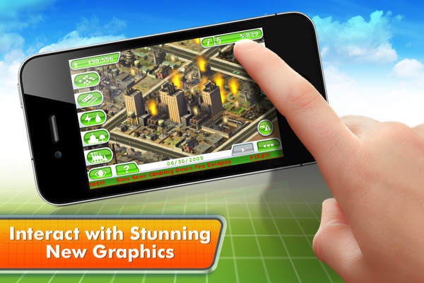 SimCity™ Deluxe - iPhone Mobile Analytics and App Store Data