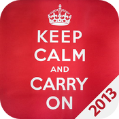 Keep Calm 2013 HD icon