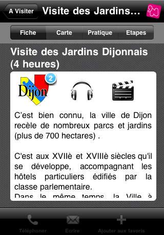 Click 'n Visit Parcs et Jardins - Visitez les parcs et jardins en France iPhone Screenshot 4