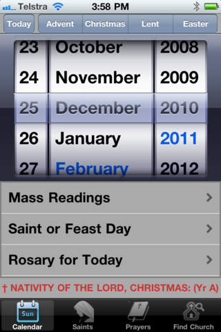 Missal, Catholic screenshot 1