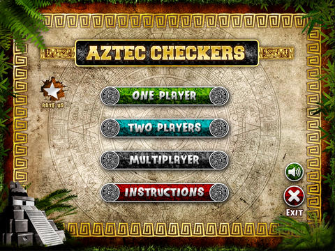 Aztec Checkers Free
