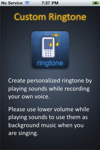 Easy Personal Ringtone Creator