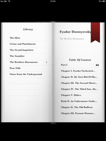 Dostoevsky Collection for iPad