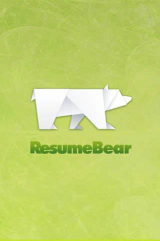 Resume bear