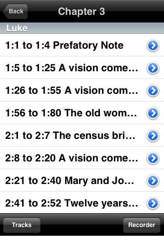 The Four Gospels iPhone Screenshot 3