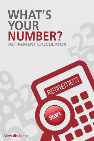 What's Your Number Retirement Calculator