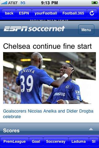 World Soccer News