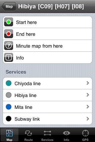 Tokyo Metro 10 iPhone Screenshot 2