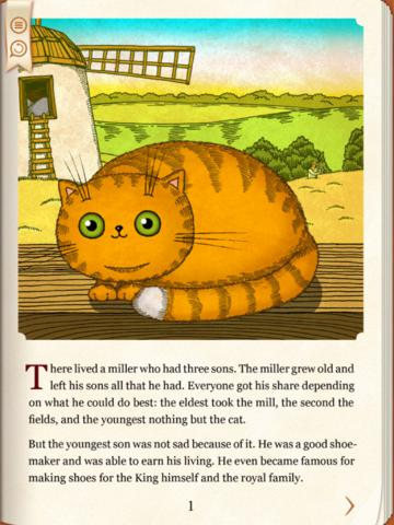 Puss in Boots And the Ogre's Tooth. Interactive children's book