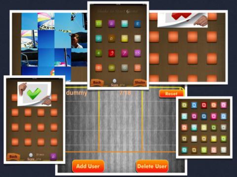 Memory Puzzle HD - Mind Focus Sharpener-Best 3-in-1 Brain Teasers Fun Games iPad Screenshot 3