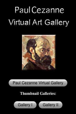 Paul Cezanne Virtual Art Gallery