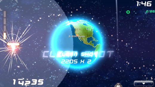 StarDunk Gold - Online Basketball in Space Screenshot