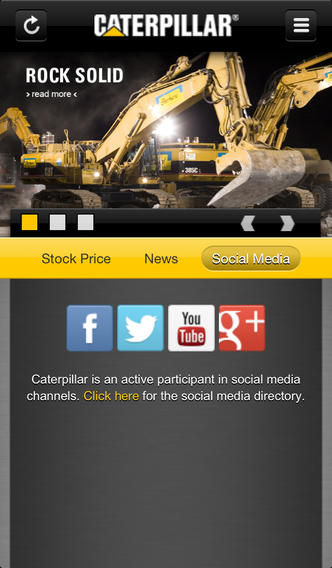 Caterpillar Inc. News - Phone