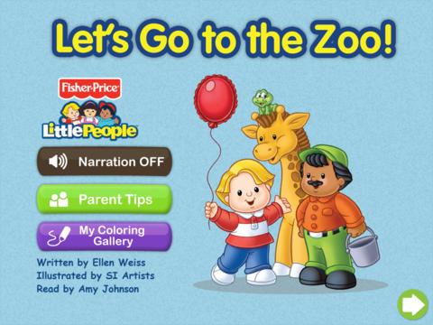 Fisher-Price Zoo Flap Book