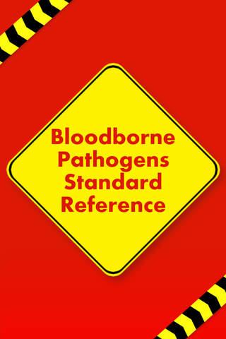 Bloodborne Pathogens Standard Reference