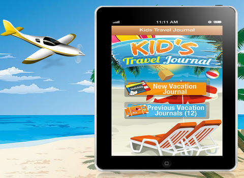 Kid's Travel Journal HD