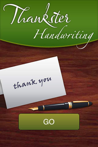 Thankster Handwriting