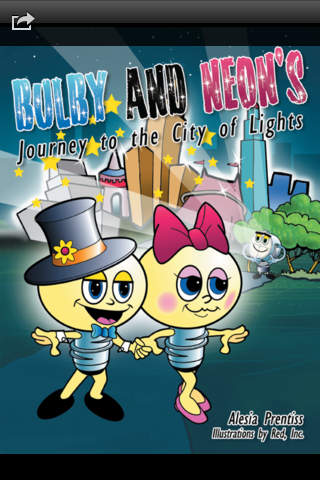 Bulby and Neon's Journey to the City of Lights