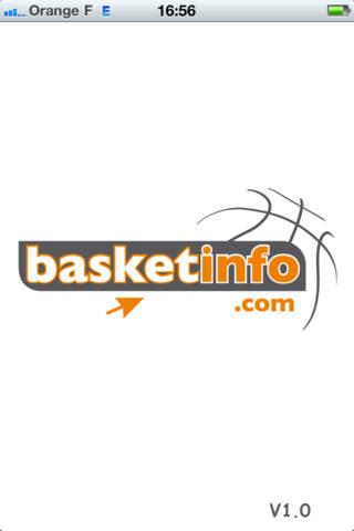 Basket Info iPhone Screenshot 1