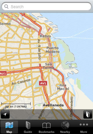 Buenos Aires Offline Map Guide