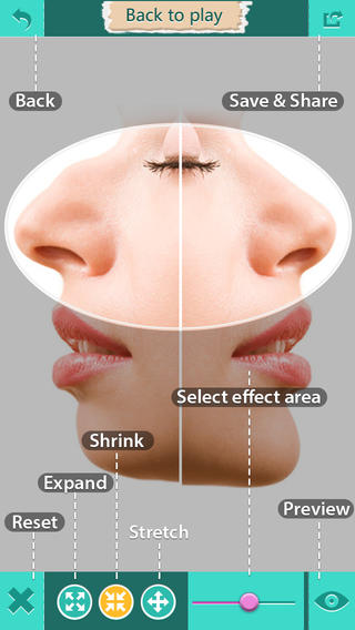 Nose Job Me FREE-Virtual Rhinoplasty App for iPhone iPod Touch and iPad