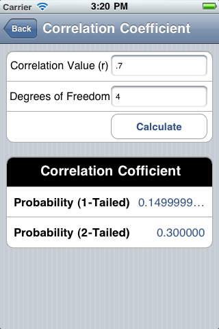 p-Value iPhone Screenshot 3