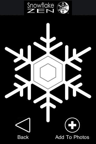 Snowflake Zen iPhone Screenshot 3