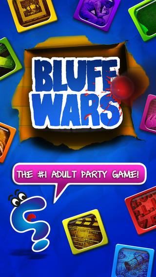 Bluff Wars - Hysterical Game of Deception