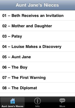 Aunt Jane's Nieces - Audio Book
