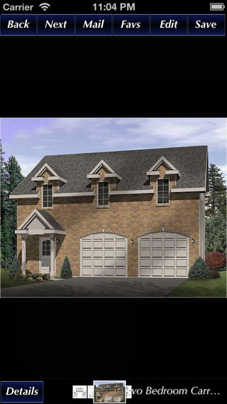 Carriage Home Style - House Plans