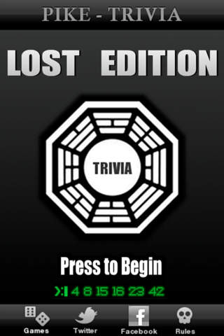 Pike Trivia - Lost Edition