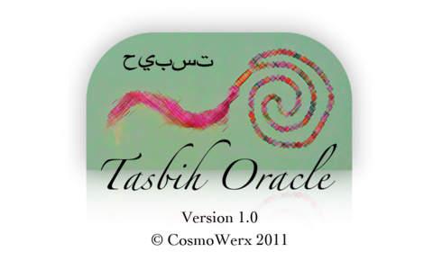 Tasbih Oracle