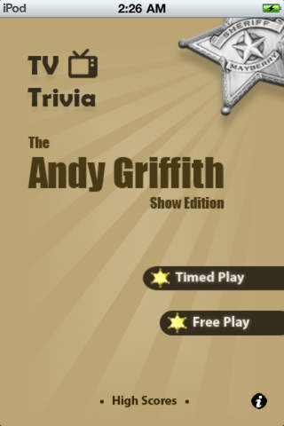 TV Trivia Pro - Andy Griffith Show Edition