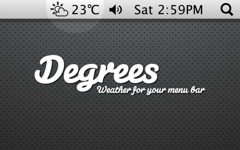 Degrees for Mac screenshot