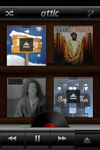 Attic ~ Music Controller For Forgotten Albums in Your iTunes Library screenshot 3