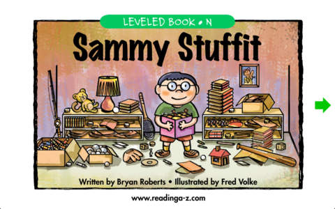 Sammy Stuffit – LAZ Reader [Level N–second grade]