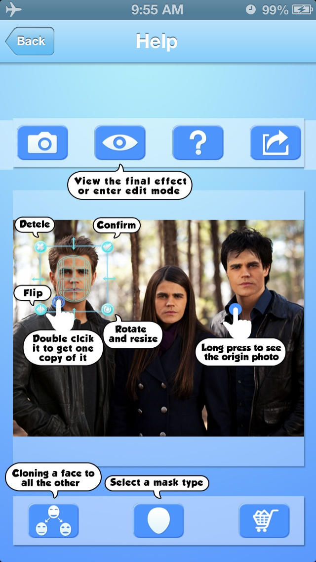 Art FB: Face Bomb HD Free - Clone Head To Your Friends
