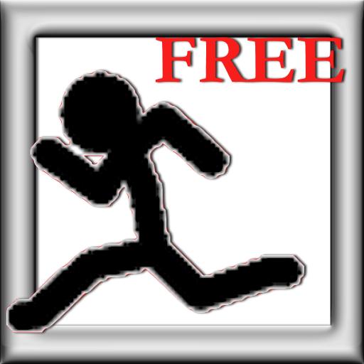 Cartoon Stickman Jump And Run: Coin Collect Free