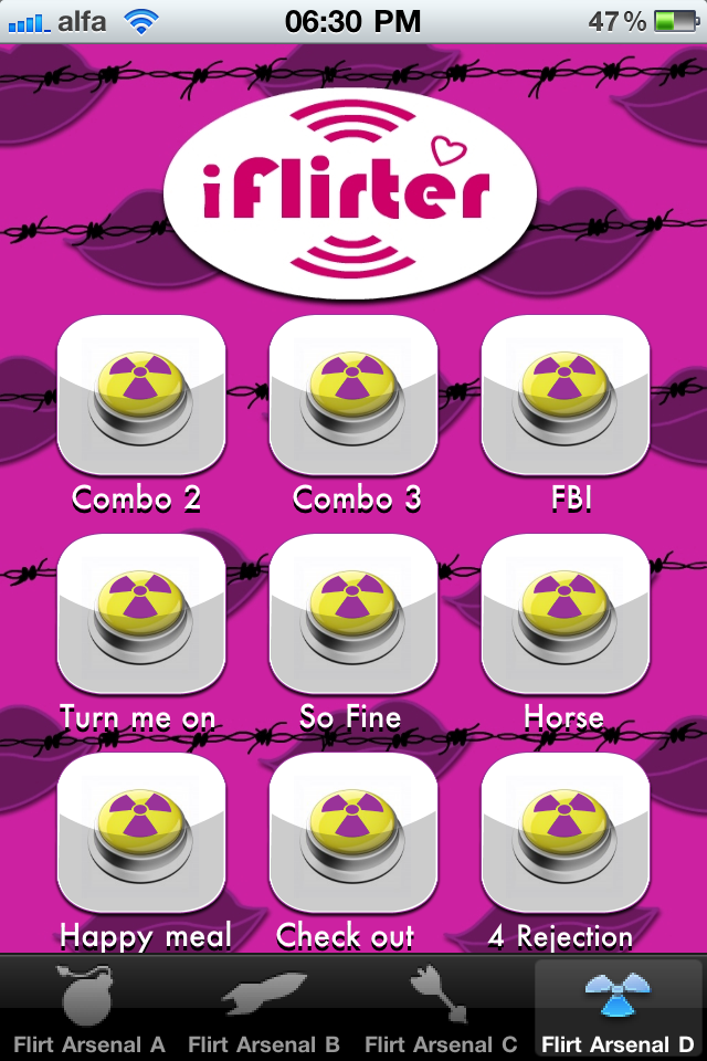iFlirter Screenshot